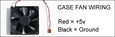 Case Fan Wiring Diagram